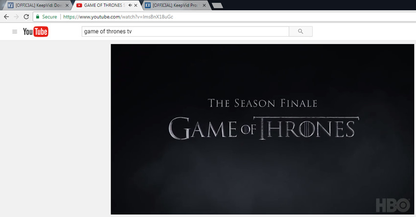 Official keepvid download youtube videos facebook vimeo how to download game of thrones subtitles copy youtube video url ccuart Image collections