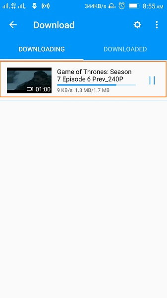 How to Download Game of Thrones Subtitles - Finish Downloading Video Along with Subtitles