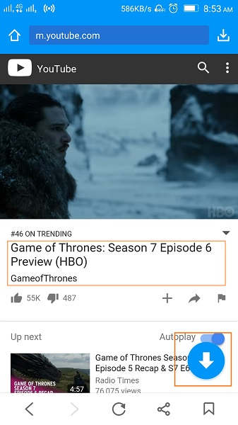 How to Download Game of Thrones Subtitles - Search for Video to Download