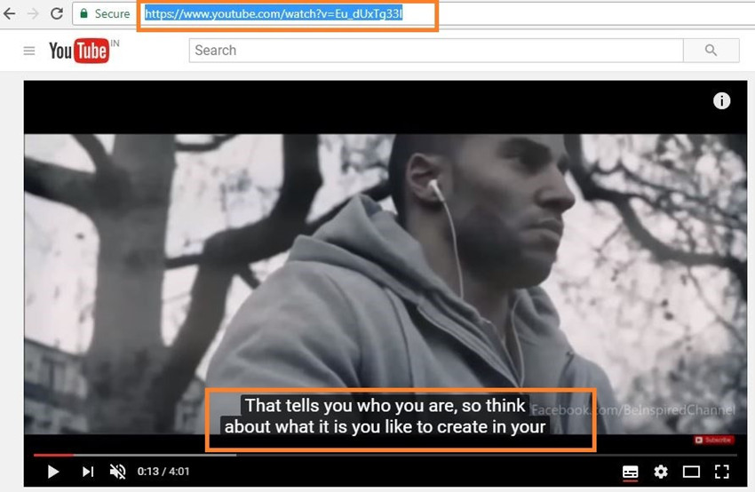 Download Subtitles from YouTube - Copy YouTube Video URL