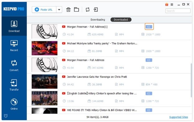 Download Subtitles from YouTube - Finish Downloading YouTube Videos with Subtitles